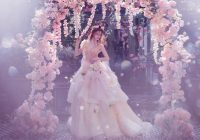 32 whimsical and ethereal wedding dresses for fairy tale Faerie Wedding Dress