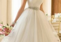 38 absolutely stunning wedding dresses with fluffy skirt Poofy Wedding Dresses