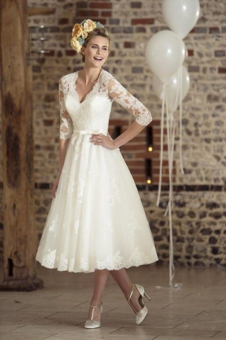 Permalink to Pretty Vow Renewal Wedding Dresses