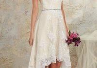 45 amazing short wedding dress for vow renewal Vow Renewal Wedding Dresses
