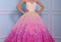 5 blush kleinfeld dresses say yes to the cause Red Wedding Dresses Kleinfeld