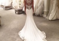 5 incredible low back wedding dresses seattle bride Wedding Dresses With Dramatic Backs