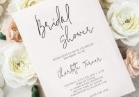 50 etsy wedding shower invitations that are stylish and Wedding Bridal Shower Invitations