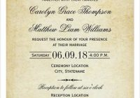 51 printable invitation card format wedding now Sample Wedding Invitation Cards