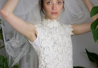 60s white guipure lace wedding gown Guipure Lace Wedding Dress