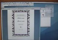 7 ways to print your own wedding invitations wikihow Design Your Own Wedding Invitations