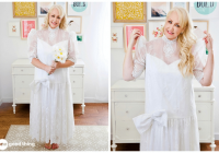 8 creative things you can do with your old wedding dress Repurposed Wedding Dress
