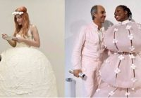 9 of the craziest wedding dresses you have not seen yet Craziest Wedding Dresses