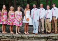 a lilly pulitzer wedding excited for the day when i can Lilly Pulitzer Wedding Dresses