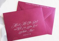 addressing wedding invitations lauren yvonne design How To Address A Wedding Invitation
