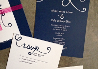 affordable wedding invitations from vistaprint slim sanity Affordable Wedding Invitation