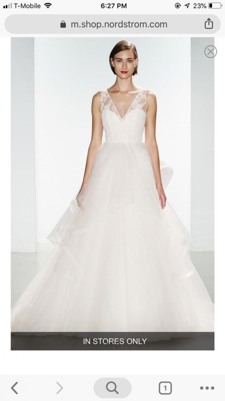 Permalink to Pretty Amsale Wedding Dress s Ideas