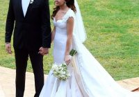 ashley heberts wedding dress married jp rosenbaum in Justice Of The Peace Wedding Dresses