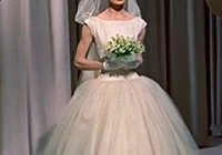 audrey hepburn white ball gown funny face i know im a Audrey Hepburn Wedding Dress Funny Face