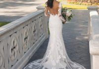 backless wedding dresses open back bridal gowns essense Wedding Dresses With Dramatic Backs