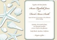 beach wedding invitations lovetoknow Beach Wedding Invite Wording