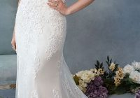 bead accented embroidered lace on a cap sleeve fitted Wedding Dress Stores In Charlotte Nc
