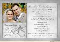 Beautiful 25th wedding anniversary invitations wording wedding 25th Wedding Anniversary Invitation Wording Examples Gallery