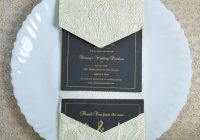 beautiful lace pearlescent textured paper cocktail party invitation 7×5 ltri prt14 Cocktail Wedding Invitations