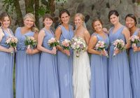 beautiful periwinkle bridesmaids for this beautiful summer Periwinkle Wedding Dresses