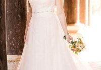Beautiful plus size wedding dresses collection white house bride Pretty Beach Wedding Dresses Plus Size Designs