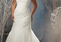 beautiful wedding dress for top heavy women wedding Wedding Dresses For Overweight Brides