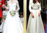 before and after beyond lovely each time 2nd wedding Kate Middleton Reception Wedding Dress