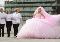 big gypsy wedding dress designer backs alzheimers memory Biggest Gypsy Wedding Dress