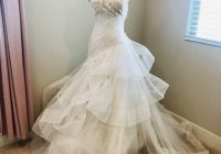 bliss monique lhuillier tulle formal wedding dress size 6 s 83 off retail Monique Lhuillier Wedding Dress s