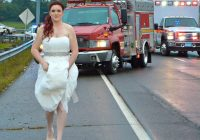 bride leaves wedding to aid family in car crash Wedding Dresses Clarksville Tn