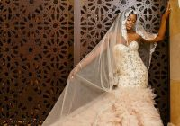 brides nona bridal dress designer atlanta afro African American Wedding Dress Designers