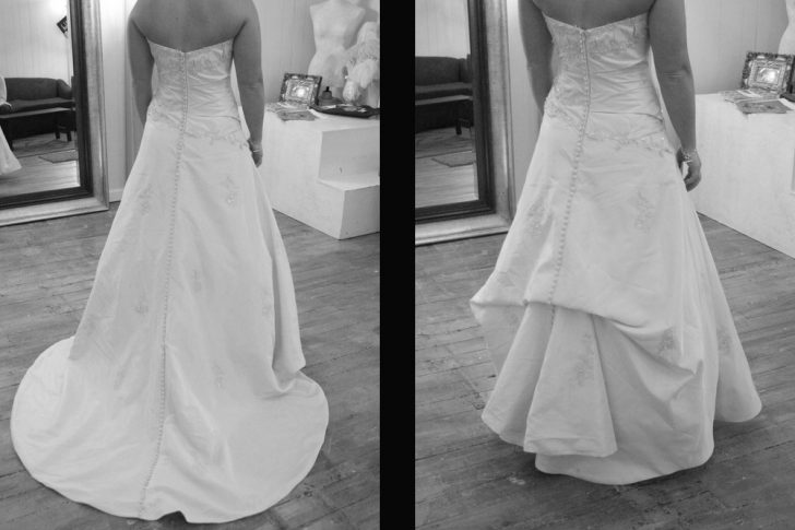 Permalink to Beautiful French Bustle Wedding Dress