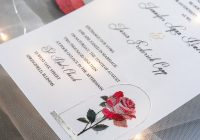 but a rose vintage beauty and the beast inspired uv Wedding Invites Printing