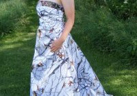 camo wedding dress corset back snow and mossy oak Mossy Oak Wedding Dress