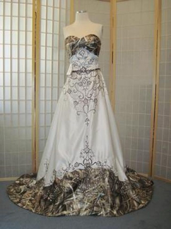Permalink to 10 A Touch Of Camo Wedding Dresses Ideas