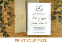 casa papel philadelphia custom wedding invitations and Custom Printing Wedding Invitations