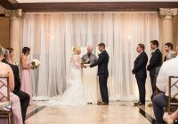 ceremony in the cargill room lob at the waterfront Wedding Dresses La Crosse Wi