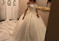 cheap wedding dresses luxurious long sleeves bridal dresses lace wedding dresses ball gownsprincess wedding dressoff the shoulder bride wedding Princes Wedding Dresses