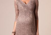 chloe maternity lace dress mink maternity wedding dresses Tiffany Rose Maternity Wedding Dress