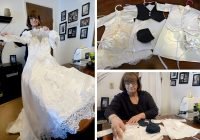 comfort after loss wedding dresses made into angel gowns Wedding Dresses Albany Ny