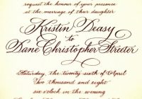 comparing font styles for invitations invitations wedding Font Styles For Wedding Invitations