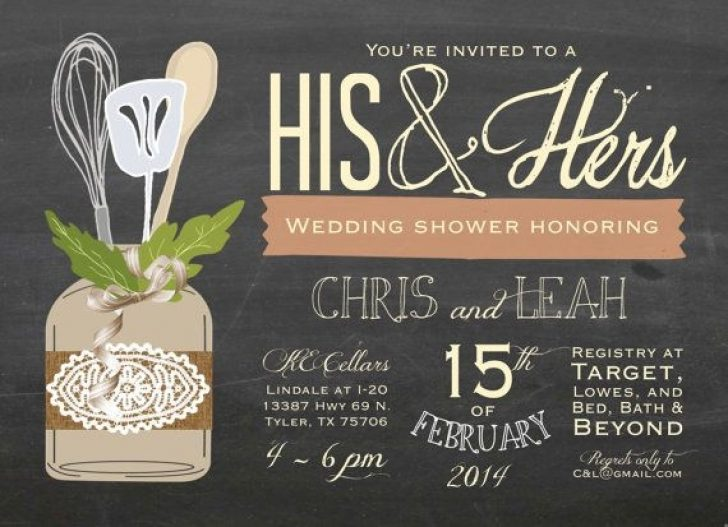 Permalink to His And Hers Wedding Invitations Ideas