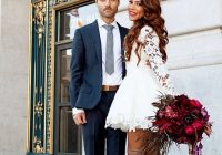 courthouse chic wedding dress dreamerslovers in 2021 Courthouse Wedding Dress Ideas