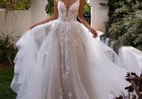Cozy pin on lace and beaded wedding dresses Lace Tulle Wedding Dress