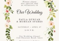 create your own wedding invitations to download print or Design Own Wedding Invitations Online