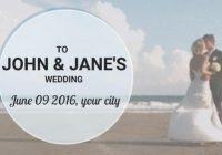create your wedding invitation video from our wide range of Wedding Video Invitation