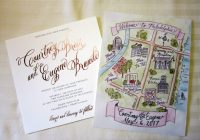 current crush custom wedding maps persnickety invitation Wedding Invitation Maps