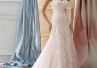david tutera for mon cheri ivorygardenia corded lace applique and tulle over luxurious satin 115237 justice feminine wedding dress size 2 xs 58  Of David Tutera Wedding Dresses