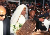 dennis rodman in a wedding dress lovetoknow Dennis Rodman In A Wedding Dress