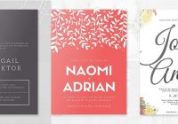 design a beautiful custom wedding invitation canva Graphic Design Wedding Invitations